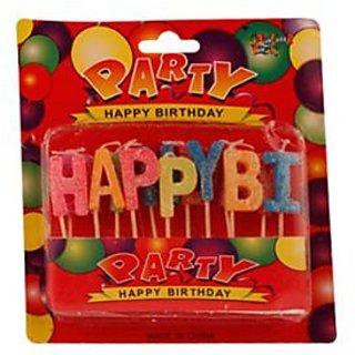 Happy Birthday Toothpick Candle