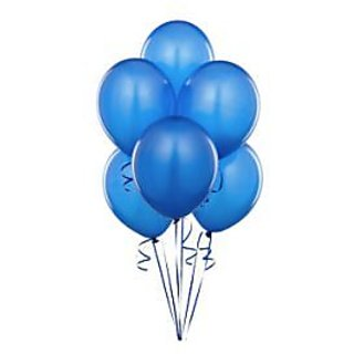 Blue Metallic Balloons - A Pack Of 25