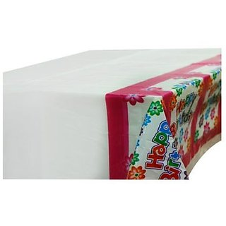 Happy Birthday Floral Table Cover
