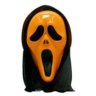 Scream Mask - Orange