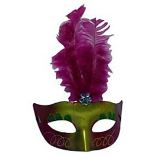Showgirl Eye Mask - Hot Pink