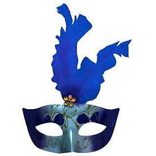 Showgirl Eye Mask-Blue
