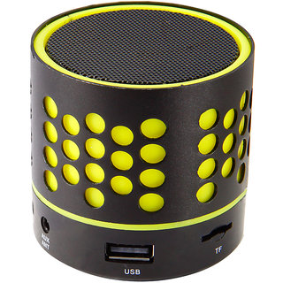 Zebronics DOT Portable Bluetooth Speaker (Yellow)