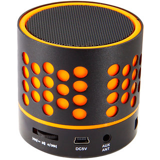 Zebronics DOT Portable Bluetooth Speaker (Orange)