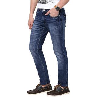 3Concept Blue Slim Fit Jeans For Men-abc110c