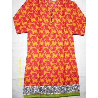 SDFashion Internationals Designer Cotton Kalamkari  Kurti