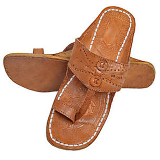 Pulpypapaya Kolhapuri Leather Slipper