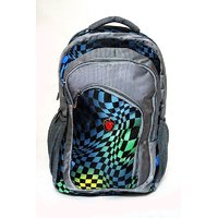 Xfactor Laptop Bag Multi Color Polyester College Backpack Xf011