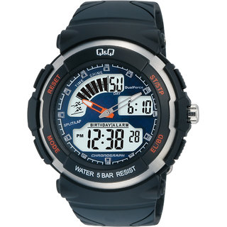 Q&Q Analog-Digital Watch-For Men