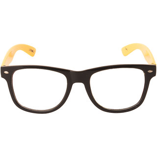 Skyways Black-Yellow Wayfarer Sunglass - Wf-Olc-Blk-Ylw