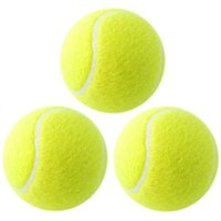 Cricket Tennis Ball - Yellow (Pack of 3)