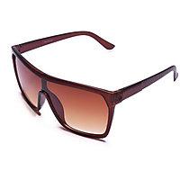 Derry Sunglasses In Wayfarer Style In Brown Shade In Yo Yo Look(Goggles) DERY391