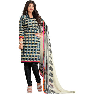 Lovely Look Multi Printed Un-Stitched Chudidar suit LLKKFBGSSNR44016