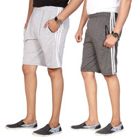 Swaggy Solid Mens Short Combo of 2