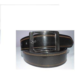 Italian Leather Stiched Men Formal Belt.