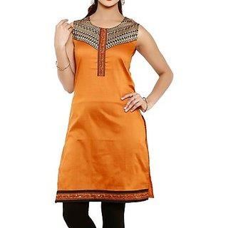 Rajrani Womens Brown Kurti