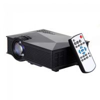 Pol UC46 Wireless WIFI Mini Portable Projector 1200 Lumen 800 X 480 Full HD LED