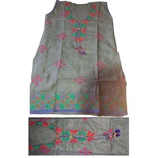 beautiful cotton kurta embroidery