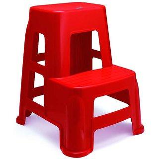 Nilkamal Stool Stl21 Bright Red