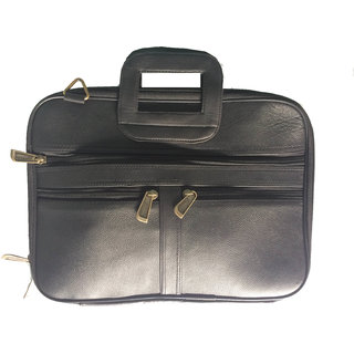 Genuine Leather Laptop And Folder Bag For Men And Women