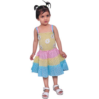Pari Prince Yella Bella Yellow Frock