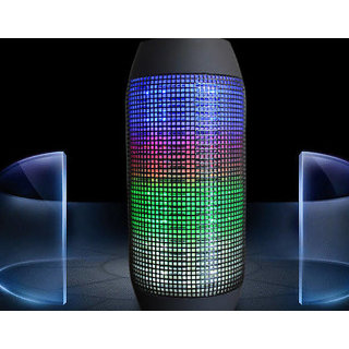 Portable Bluetooth Speaker with LED Show