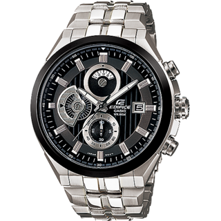 CASIO EDIFICE EF-556D-1AV 100% Genuine (New Watch In A Box) 1 Year Warranty