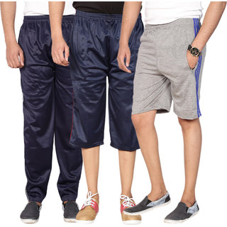 Swaggy Solid Mens Sports Combo of 3