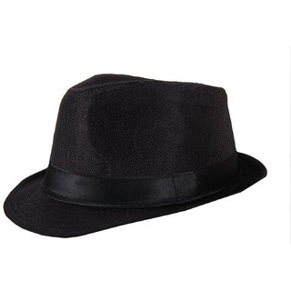 Detective black Fidora Hat For Men