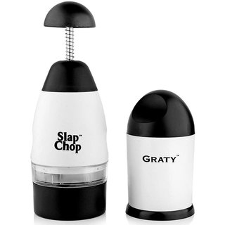 Multi puropse Slap Chopper with Cheese Grater with High Quality Steel Blades
