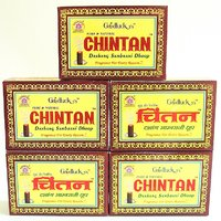 Dhoop - Chintan Dashang Sambrani Highly Soothing - (Set Of 5 Packets/24 Sticks In A Packet)