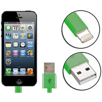 Gadget Hero's Apple Generic IPhone 5, IPad 4 & Mini Lightning Cable USB Data Sync & Charging Green