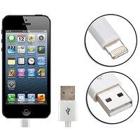 Gadget Hero's Apple Generic IPhone 5, IPad 4 & Mini Lightning Cable USB Data Sync & Charging White