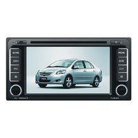 Toyota special Double Din DVD - 7 inch HD LED Touch Screen Bluetooth GPS with 3D maps