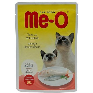 Meo Tuna  White Fish 80 Gm