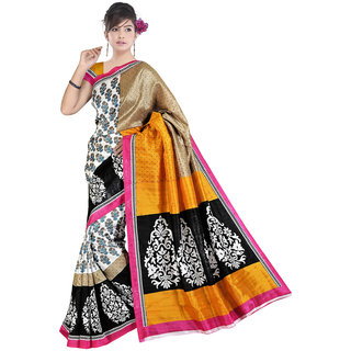 Lovely Look Multi Printed Saree LLKGPS5084