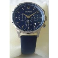 Grady Classic Blue Chronograph Date Mens Watch