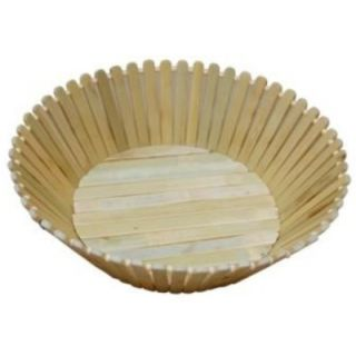 Handmade Wooden Fruit  Vegetable Basket