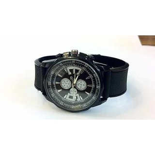 Boys New Collection With Attractive Black Color Watch