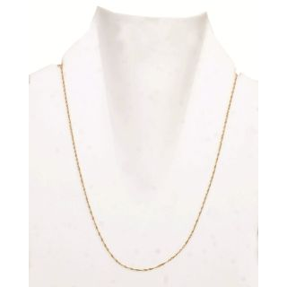 FLAT 20% OFF - 18K BIS Hallmark Pure Yellow Gold Beautiful Elegant Italian Chain