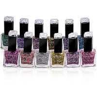 CHARM LIMIT EXPTIONAL NAIL POLISH  Free Liner  Rubber Band -GOO