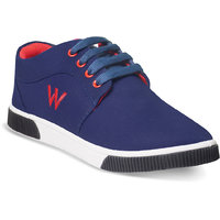 Adybird Mens Blue Casual Shoe Lace Up Shoe