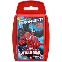 Top Trumps Super Deluxe Spiderman Red