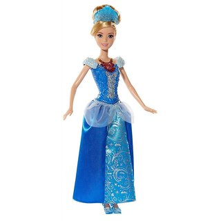 Mattel Disney Princess Light Up Gems Cinderella Doll Bdj22