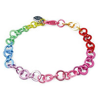 Hamleys Rainbow Chain Link Bracelet Multicolour