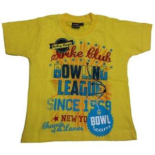 Tomato 28 Yellow T-Shirt For Boys