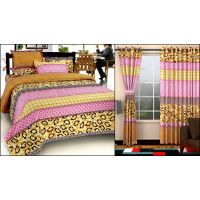 Home Castle Pack Of Double Bedsheet + 2 Pillow Covers With Set Of 2 Door Curtains.