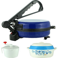 Eagle Blue Roti Maker With Dough Maker And Hot Pot