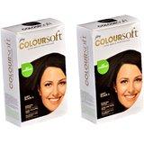 Godrej Coloursoft Hair Color ( Soft Black )- Pack Of 2 X 40 Ml