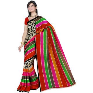 Lovely Look Multi Printed Saree LLKGPS5147